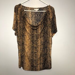 Jaclyn Smith Top Size 1X